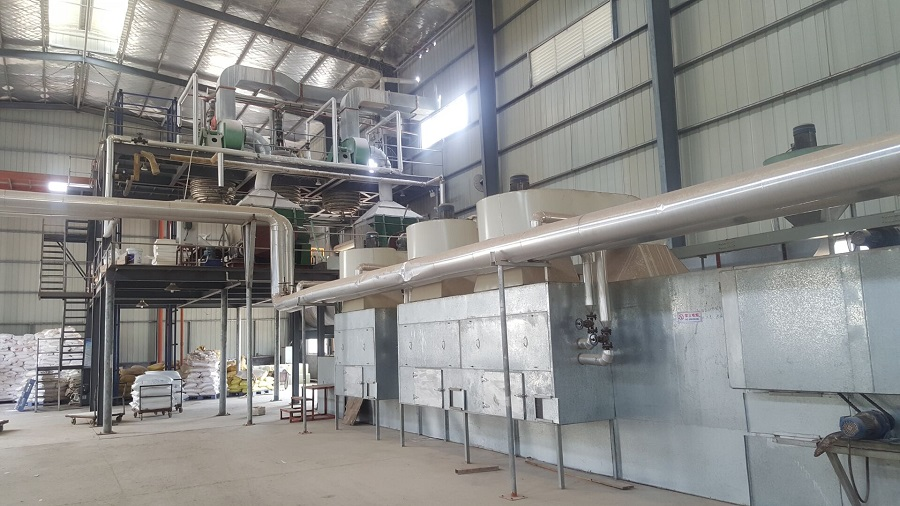 MF Molding Compound Plant Machine