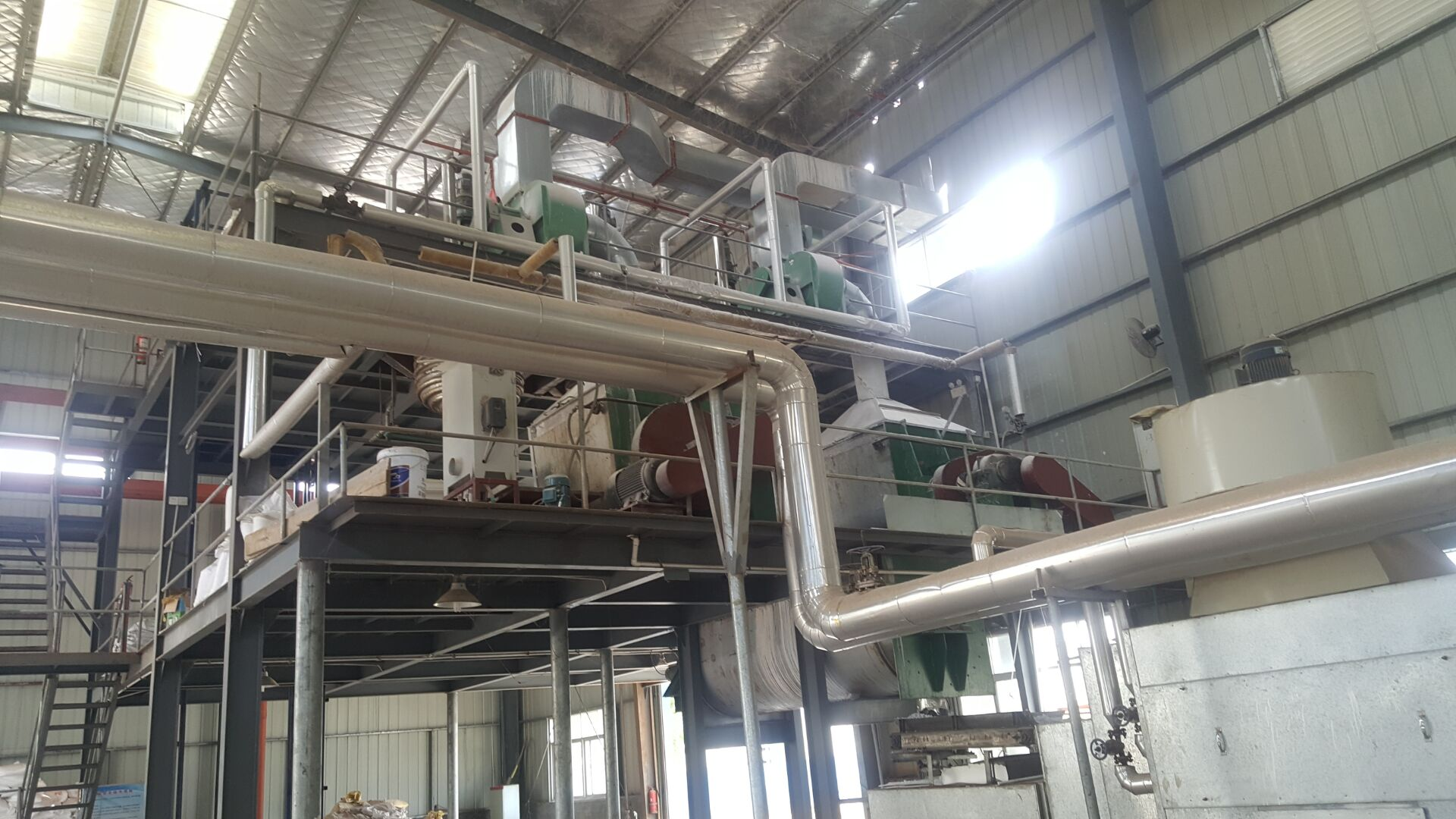 UF Molding Compound Plant Machine