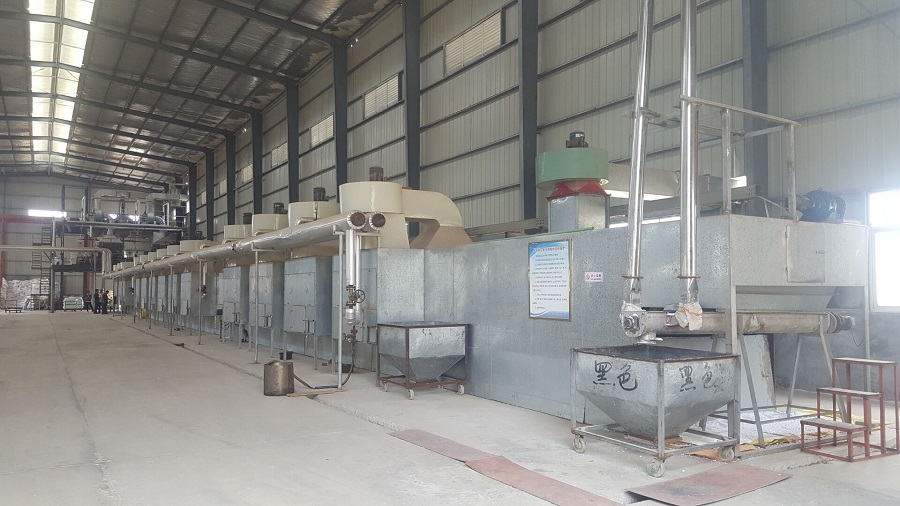 UF Molding Compound production line