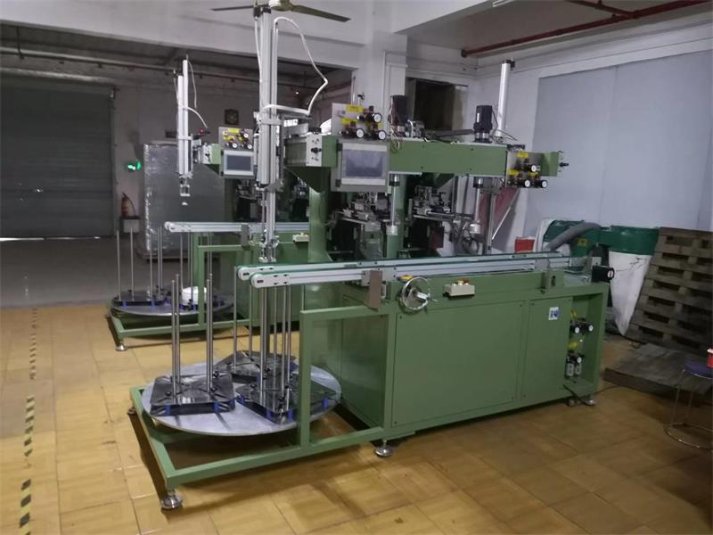 Melamine tableware automatic trimming machine