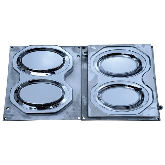Melamine Compression Oval Plate Mould