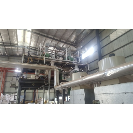 Auto MF Molding Compound Plant Machine